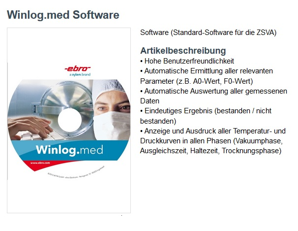 ebro software winlog.med